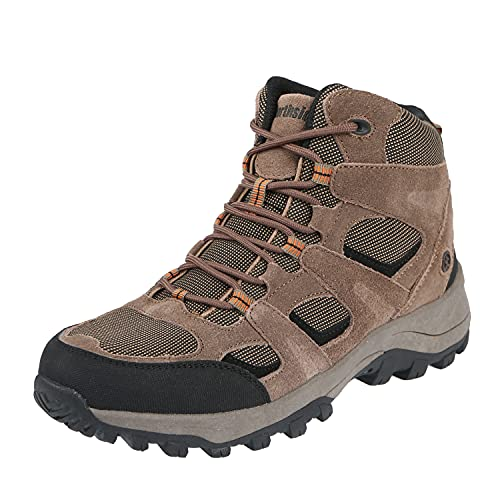 Northside Men's Monroe-M Hiking Boot, Brown, 10 M US