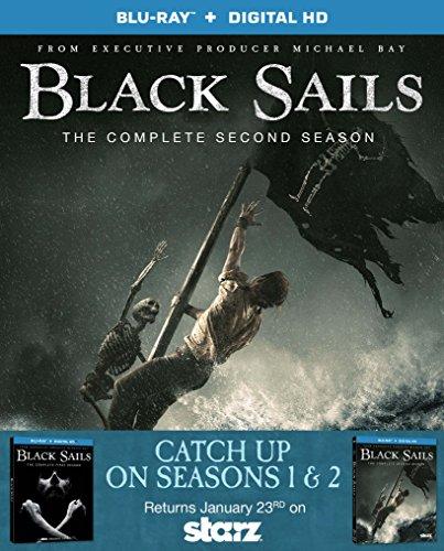 Black Sails: Season 1 & 2 [Blu-ray]