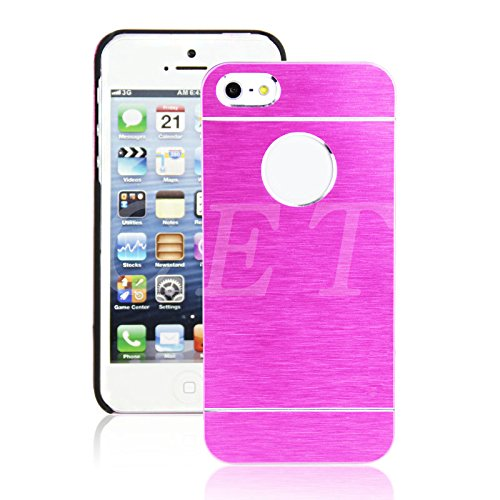 Motomo Ultra Thin Aluminum Hybrid Metal Cell Phone Case for Iphone 5 / 5S