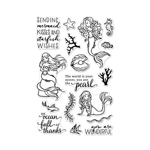 Hero Arts Clear Stamps, Color Layering - Mermaid Kisses