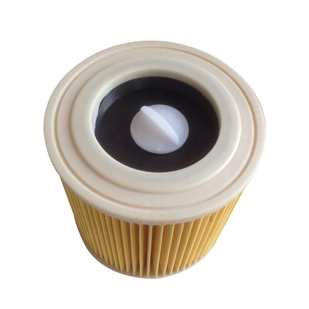 Liamostee 1/2/4 piezas de filtro de cartucho para cartuchos de filtro de aspiradora KARCHER WD2.200 WD3.500: Amazon.es: Hogar