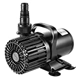 VIVOSUN 1600 GPH Submersible Water Pump 100W Ultra Quiet Pump with 20.3ft Power...