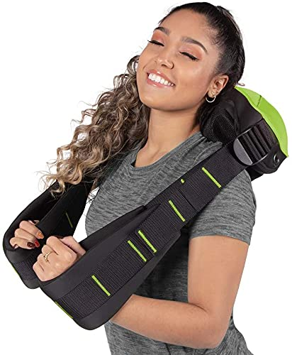 Shiatsu Neck, Back and Shoulder Massager with Heat by...