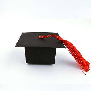 50 bitar av examen hatt godis låda examen fest leveranser examen fest dekorationer examen gåva godis låda