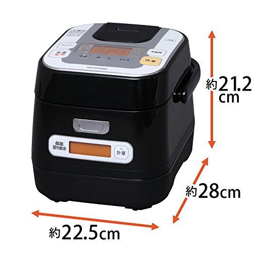 アイリスオーヤマ銘柄量り炊きIHジャー炊飯器3合RC-IA30-B
