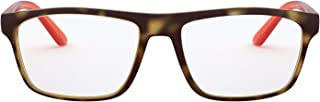 A|X Armani Exchange Men's AX3073 Rectangular Prescription Eyewear Frames, Matte