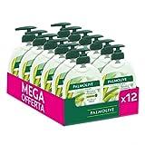 Palmolive Sapone Liquido Mani Hygiene Plus Sensitive Con Aloe Vera, Con Antibatterico Naturale, Protegge Contro I Batteri, 12 x 300 ml