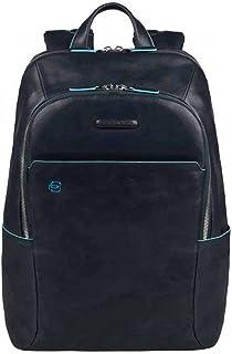 Piquadro Blue Square Mochila portaordenador con compartimentoportaiPad®/iPad®Mini Acolchado - CA3214B2 (Azul Noche)