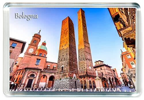 J099 Bologna Jumbo Imán para Nevera Italy Travel Fridge Magnet