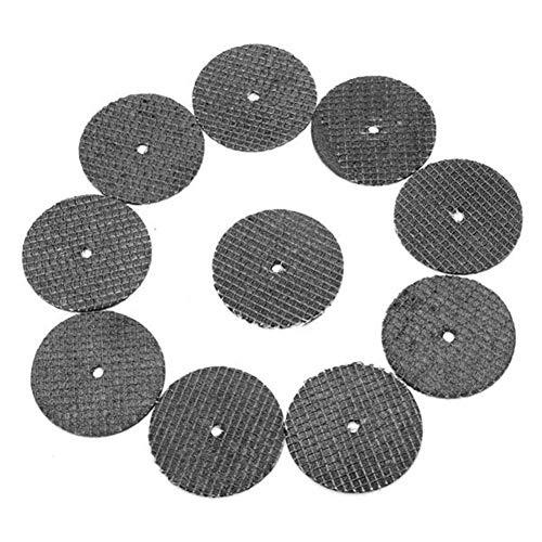 WEI-LUONG 10pcs 32mm reforzada plana Cut Off rueda de resina Discos de corte Chop hoja de sierra de esmerilado y pulido Herramientas