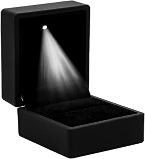 High Quality Ring Case Box, For Weddings, Valentine's Day, Engagement Ring