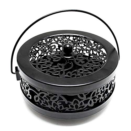 Sutekus Mosquito Coil Holder Steel Coil Incense Holder Censer Incense Burner Holder
