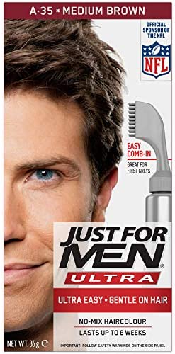 Just For Men AutoStop Ultra Foolproof Haircolour Medium Brown ...