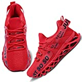 Wonesion Women's Breathable Running Tennis Shoes Blade Athletic Workout Sport Sneakers