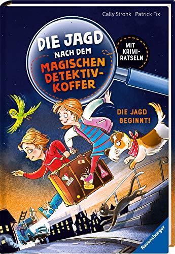 Die Jagd nach dem magischen Detektivkoffer, Band 1: Die Jagd beginnt! (Erstleser)