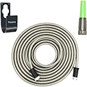 Metal Garden Hose 304 Stainless Steel Garden Hose - Lightweight, Kink-Free, Stronger Than Ever, Easy to Use