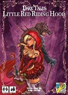 DaVinci Games Little Red Riding Hood Dark Tales Expansion Fantasy Card Game by