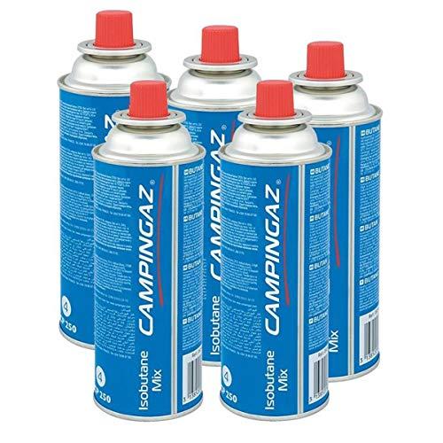 Campingaz Ventil-Gaskartusche CP 250-450ml Isobutane Mix (5er Pack)