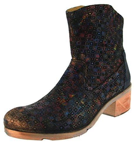 Papucei Damen Stiefel/Stiefelette Blue Pixels (Mehrfarbig) MARUCA