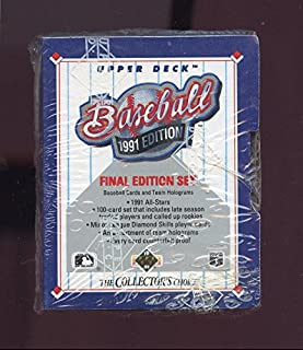 1991 Upper Deck Final Edition Baseball Card Complete Box Set FACTORY SEALED