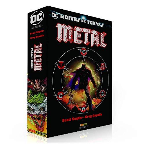 BOX PARA A COLEÇÃO: BATMAN METAL (SOMENTE A CAIXA)
