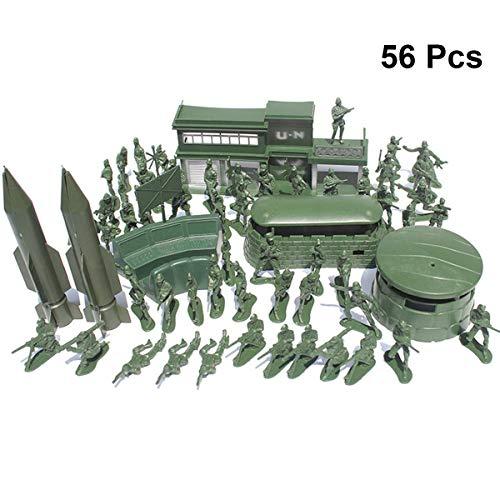 Realizzato in materiale plastico di alta qualità, sicuro, non facile da danneggiare. I bambini possono comandare il proprio esercito di soldati sul campo di battaglia immaginativo. Conducente all'esercizio dell'immaginazione e della comprensione del ...