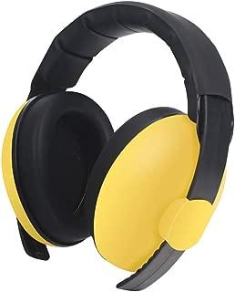 MeterMall Baby Kids Anti Noise Earmuffs Headset Hearing Protection Ear Defenders Sleeping Headphone yellow