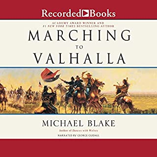 Marching to Valhalla audiobook cover art