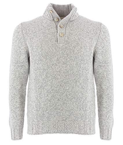 Gran Sasso grau Melange Pullover für Männer 54