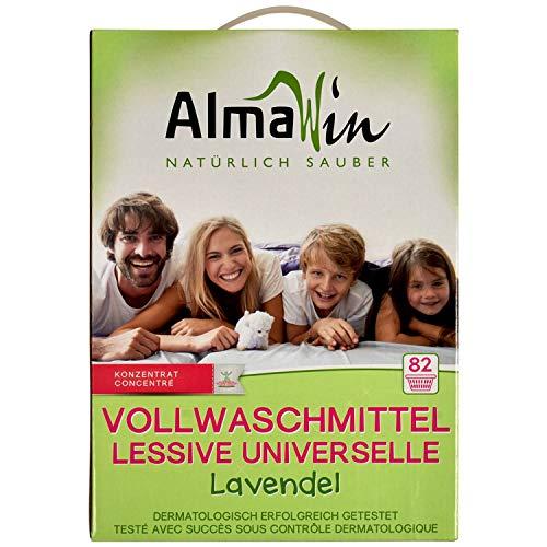 ALMAWIN Vollwaschmittel (4,6 kg) Lavendel 82 Waschgänge