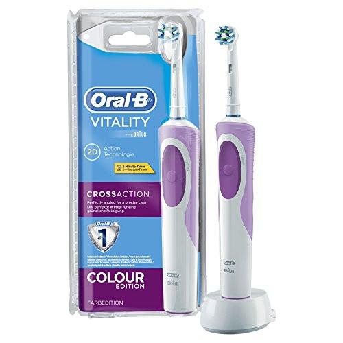 Oral-B Vitality CrossAction 2DElektrische Zahnbürste mit Akku