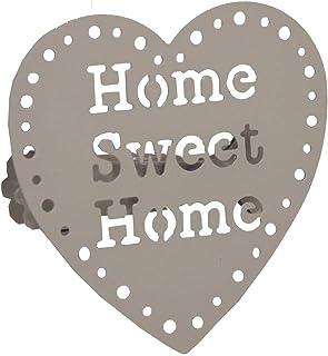 Set di due mollette fermatenda Sweet home Tortora