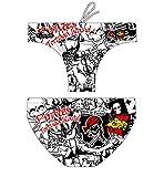 Turbo - bañador Pirate Island Profesional, Traje de Baño de Natacion Entrenamiento Competicion, Tira Ancha Doble Capa (4XL/42)