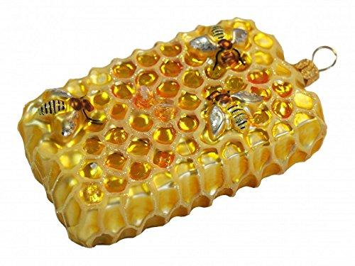 Unbekannt Honigwabe Bienenwabe Bienen Christbaumschmuck Imker Weihnachten Deko