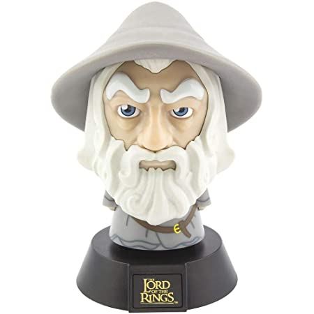 helles Nachtlicht oder Schreibtischlampe R Offiziell lizenzierte J Tolkiens der Hobbit batteriebetrieben mit 2 x AAA Paladone Herr der Ringe Gollum 3D Icon BDP R einzigartige Geschenkidee