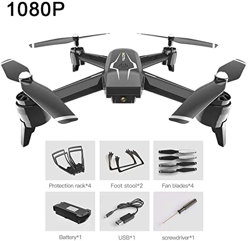 Ferndrohne Dual Camera Ferngesteuerte Flugzeuge mit Luftbildfotografie Lange Lebensdauer der Batterie Quadcopter
