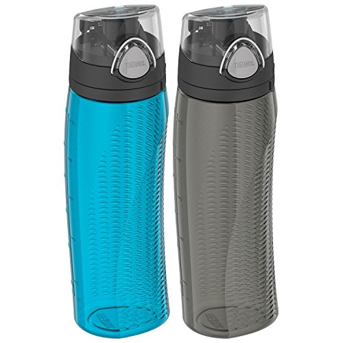 Thermos 24-oz. Hydration Water Bottle, 2 pack - Teal/Smoke