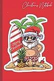Christmas notebook: cahier ligné - 119 pages - grand (6 * 9) - Cadeau pour enfants, filles, garçons, jeunes, hommes et femmes
