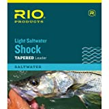 RIO Products Leaders Salzwasser-Vorfach, 6,4 kg, Shock, transparent