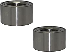Detroit Axle Both (2) New Front Driver & Passenger Side Complete Wheel Bearing for Pontiac & Toyota Vehicles