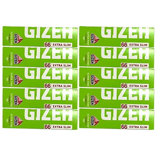 gizeh ギゼ ローリングペーパー スリム/spスリム専用シングル 5.10.20個セット (10個セット)
