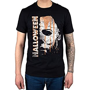 Official Halloween Mask and Drips T-Shirt Movie Film Michael Myers Jamie Lee Curtis:Isfreetorrent