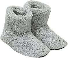 mianshe 北欧 ルームシューズ もこもこ ルームブーツ 暖かい ボアスリッパ 男女兼用