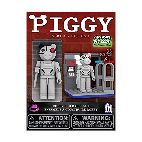 Piggy Single Figure Buildable Set-Robby (Includes DLC Items)