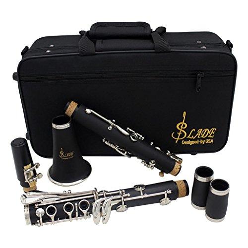 Clarinete Profesional De 17 Teclas Con Clarinete Negro Con Caja De