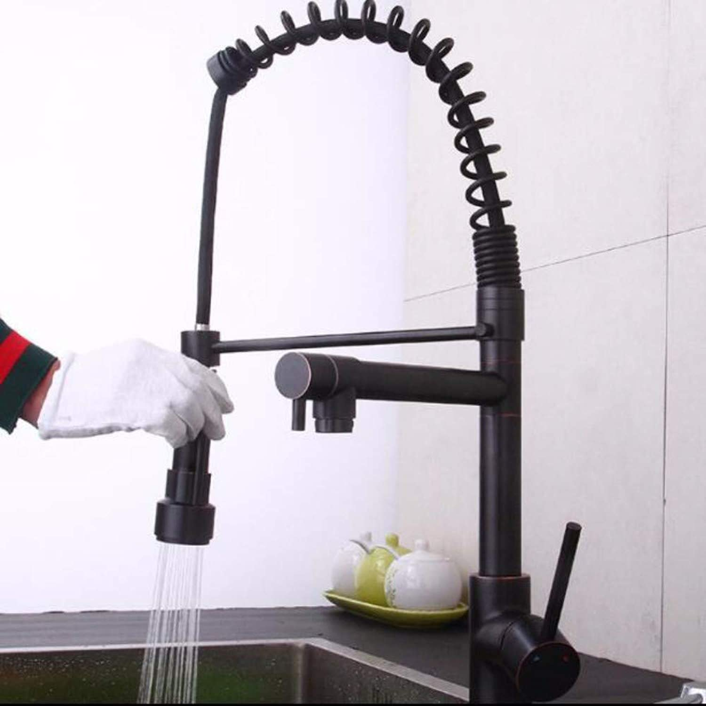 XHSSF-Küchenarmatur Küche Draw -type Kalt - und Heiwassertank Gemüsewaschbecken Rotary Faucet,B