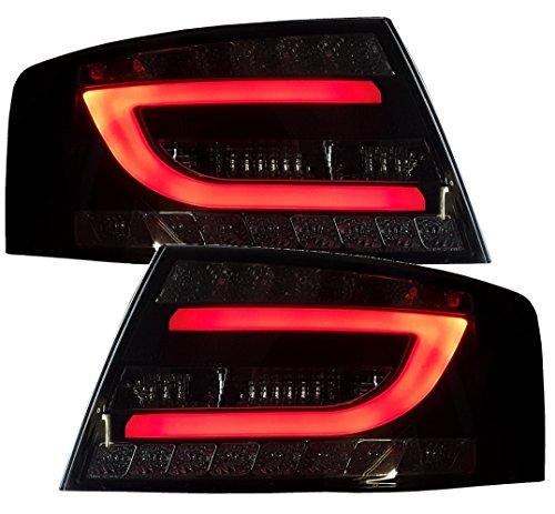 LED Rückleuchten Heckleuchten RA19ASLRS Rücklichter rot-schwarz dunkelrot