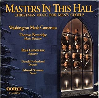 Masters in This Hall: Christma by Washington Men's Camerata (1997-12-25)