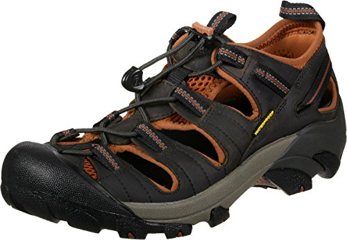 KEEN Men's Arroyo II Hiking Sandal,Black Olive/Bombay Brown,7 M US