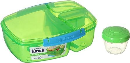 Sistema Plastic Lunch Box For Kids - Green